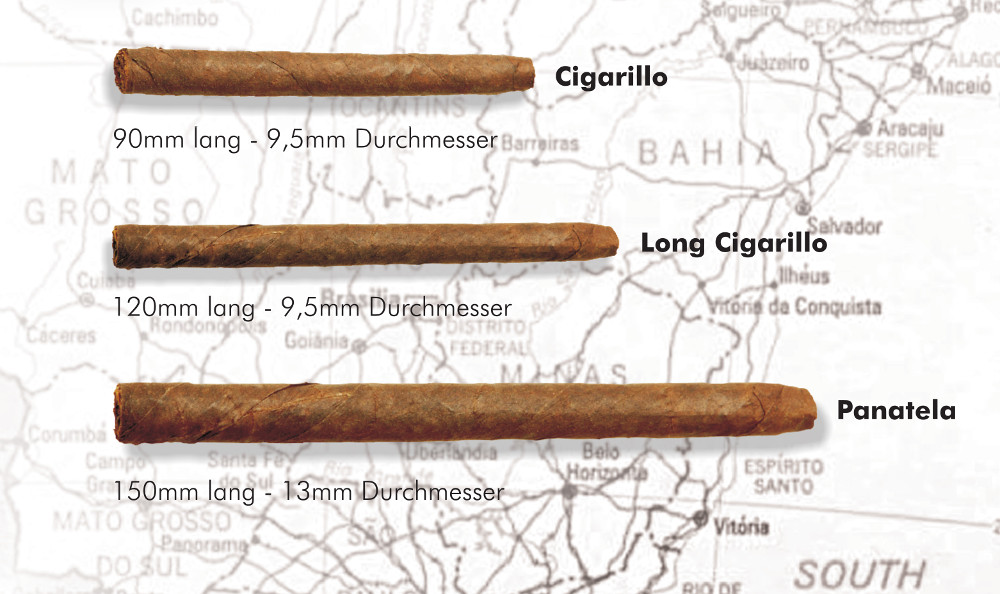 Messmer cigar factory cigar formats Brasil